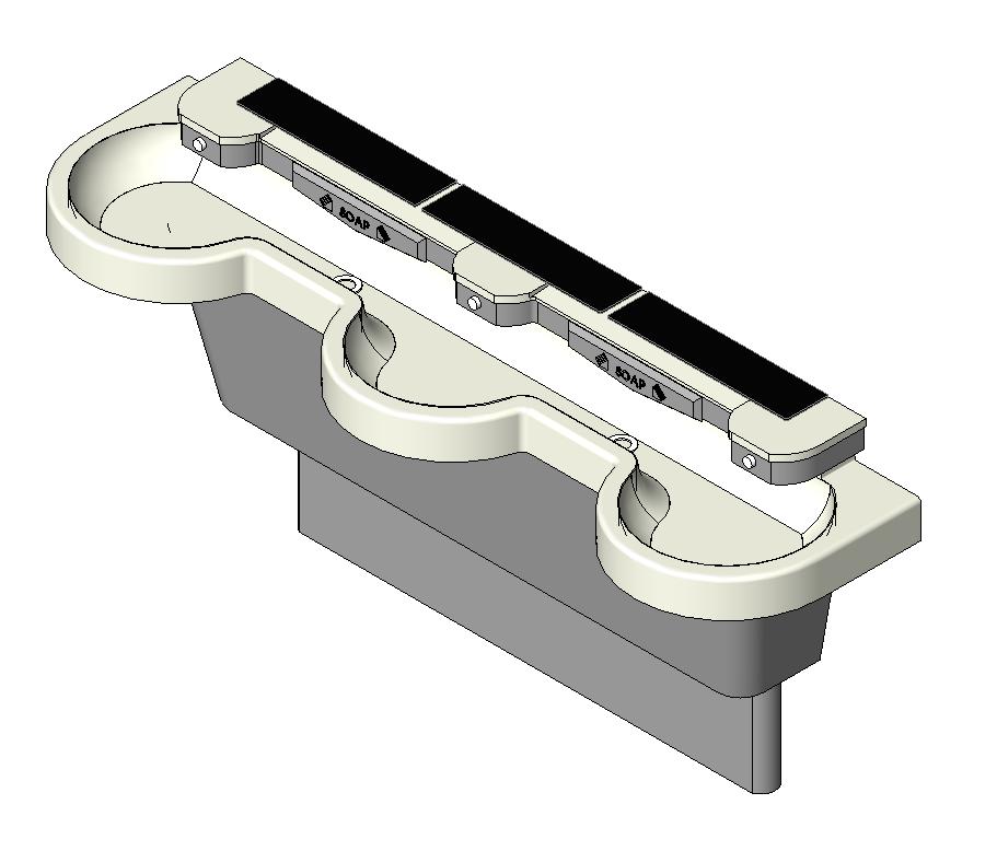 Bradley Express® Lavatory System SS-3N