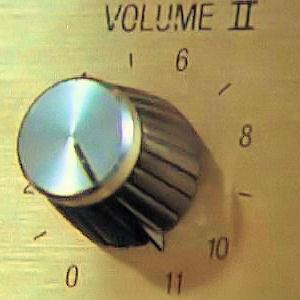 Amp volume goes to 11